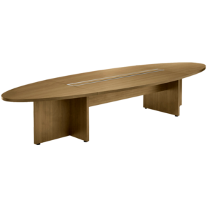 Ovale-vergadertafel-hout-kleur